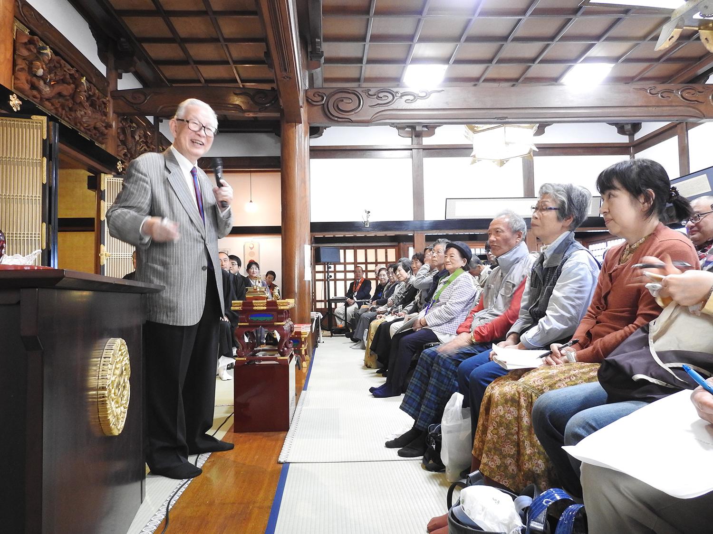 ひろさちや先生講演 平成30年報恩講 西来寺